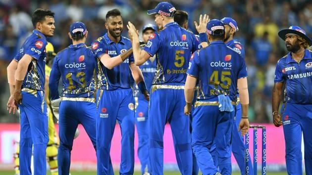 File image of Mumbai Indians team(AFP)