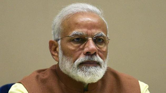 Prime Minister Narendra Modi said there was a time when only Russia was standing with India on the international stage, while the rest of the world was backing Pakistan.(Mohd Zakir/HT File PHOTO)