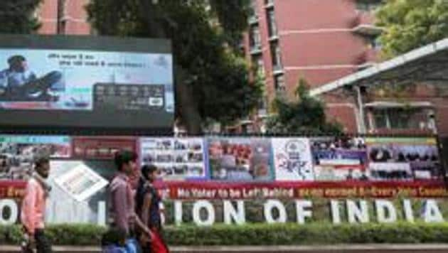 Lok Sabha elections 2019: Election Commission bans uncertified political ads on poll date and day before(REUTERS)