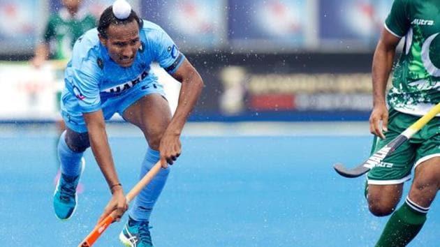 File image of India hockey player Harjeet Singh(Frank Uijlenbroek)