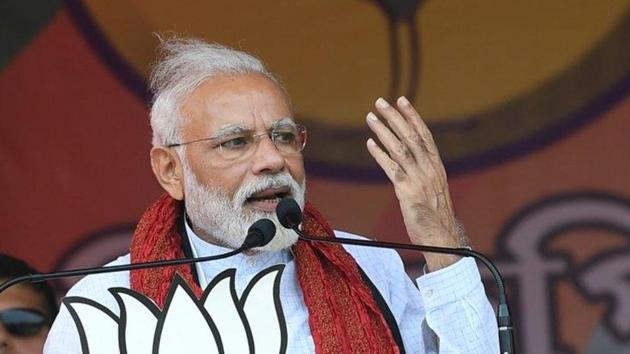 """Modi said Bengal's people had put their faith in Banerjee but she shattered it. """"The aunt-nephew duo has handed over Bengal to extortionists,'' Modi said without naming Banerjee's nephew and Parliament member, Abhishek Banerjee."""