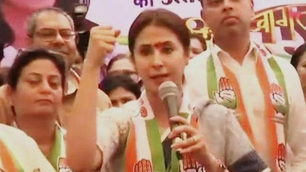 Matondkar is the Congress candidate from Mumbai North Lok Sabha constituency.