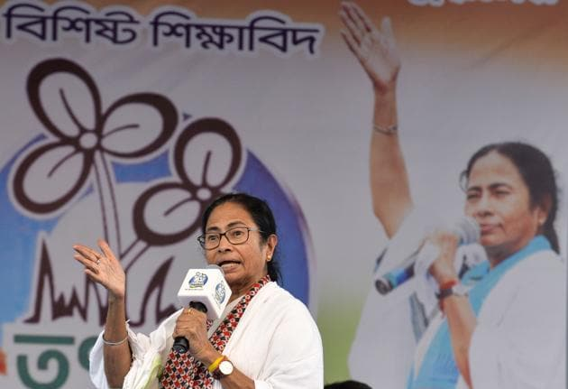 The 64-year-old won her first election in 1984 from Jadavpur, defeating Left stalwart Somnath Chatterjee, and went on to become a Union minister.(AFP file photo)