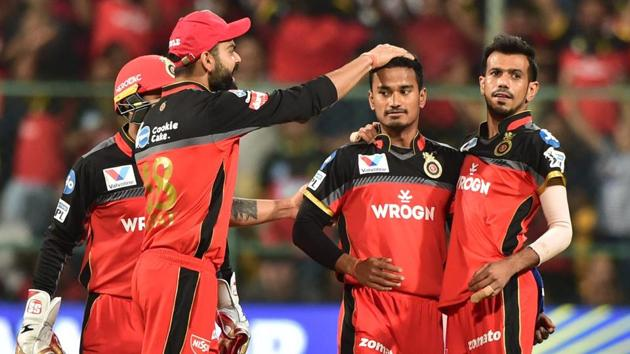 File image of RCB players(PTI)