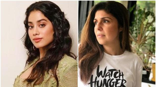 Janhvi Kapoor is currently busy shooting for the Gunjan Saxena biopic.(Instagram)