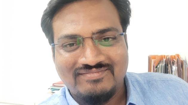 Amol Umbarje, senior coordinator, Sustainability Initiatives (environment and sustainability projects)(HT PHOTO)