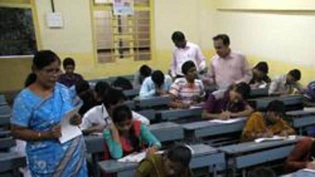 AP Inter Result 2019: The Andhra Pradesh Board of Intermediate Education will declare the Intermediate first and second year exam result 2019 on April 12.(HT file)