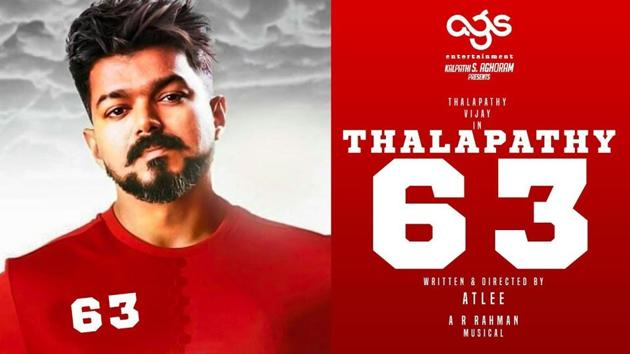 Thalapathy 63 stars Vijay in the lead role.