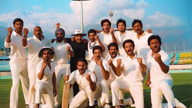 Ranveer Singh and his men revealed the release date for their film '83.