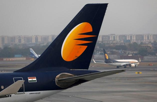 The airline has grounded more than three-fourths of its fleet due to non-payment of lessors' rentals and is operating just about 25 planes out of its 123 earlier.(REUTERS File)