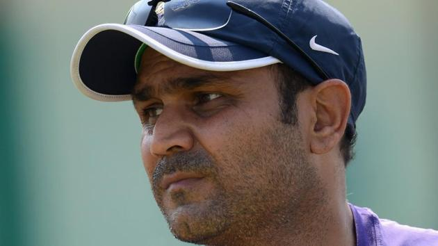 File image of former India cricketer Virender Sehwag.(Getty Images)