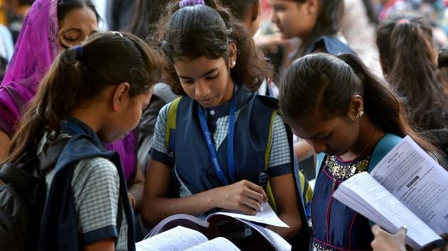 Jharkhand Board Class 10, Class 12 Results Date: More than 7.57 lakh students took the class 10 and 12 examinations across 1,395 centres. The examinations started from February 20.(Satyabrata Tripathy/HT file)