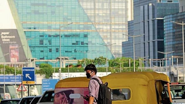 According to a report by Greenpeace, a non-government environmental organisation, published in March, Gurugram was the most polluted city in the world in 2018.(parveen kumar/ht photo)