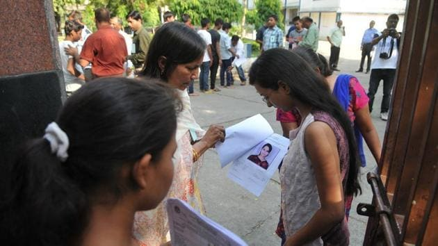Andhra Pradesh Inter 1st, 2nd Year Result 2019 : The Andhra Pradesh Board of Intermediate Education will on Friday announce the results of Intermediate first and second year examinations 2019(Mujeeb Faruqui/HT file)