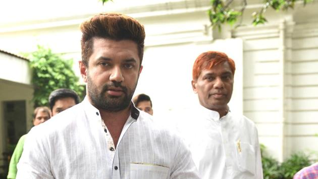 Lok Sabha elections 2019: In Bihar's four seats, Chirag Paswan, Jitan Ram Manjhi to try their luck(Arvind Yadav/HT PHOTO)