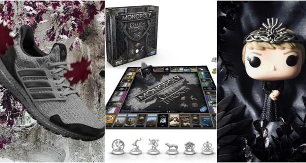 All the GOT merchandise you can own, For The Throne(Funkopop/Instagram for collectable picture)
