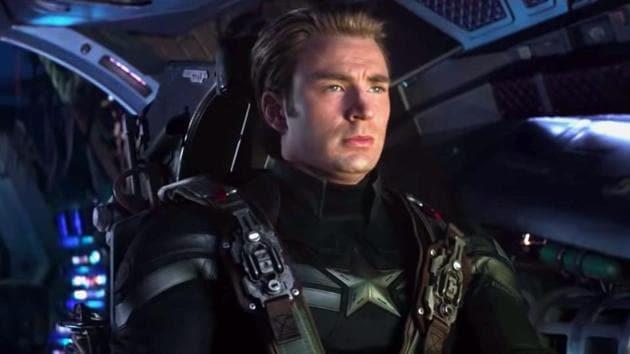 Chris Evans returns as Captain America in Avengers: Endgame.