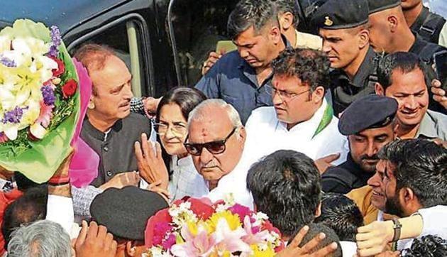 Ajay Singh Yadav is(HT Photo)