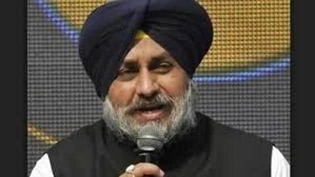 Sukhbir Singh Badal(HT File)