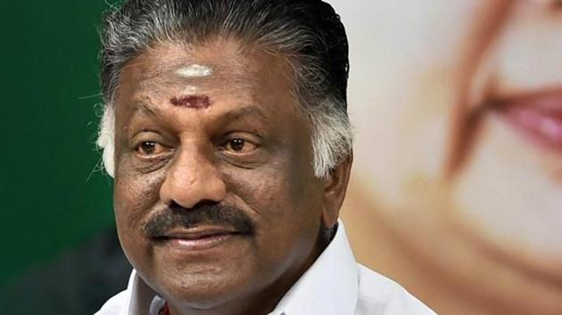 P Ravindranath Kumar, the son of Tamil Nadu deputy chief minister O Pannerselvam, is also popularly known as OPS.(PTI)
