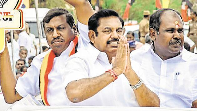 Salem is considered a fortress of the ruling AIADMK. In the 2016 assembly polls; the party won 41 out of the 47 seats in the region's Coimbatore, Tiruppur, Salem, Erode, Karur and Namakkal districts.(PTI)