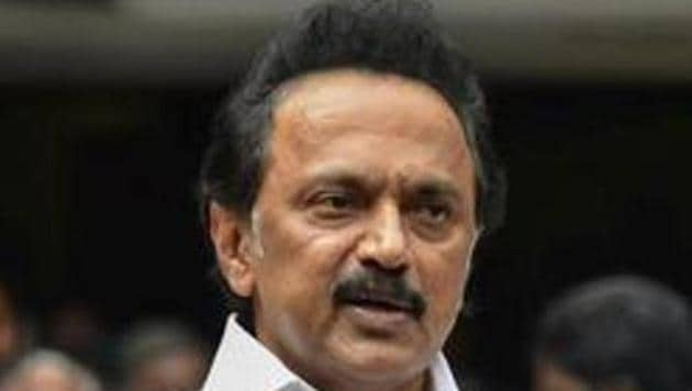 The DMK candidate is Dhanush Kumar, functionary of the party's youth wing. DMK is contesting from Tenkasi after 28 years.(PTI)