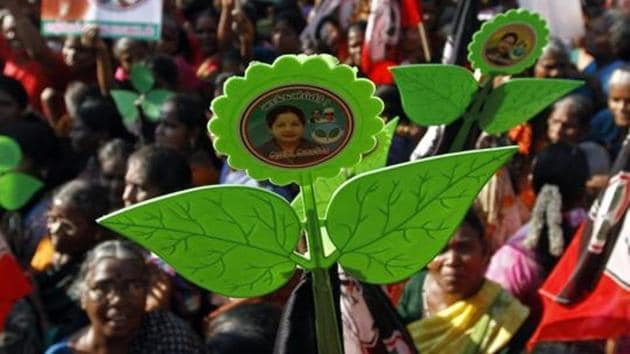 AIADMK won in Pollachi both in 2009 and 2014, and will look to win again in 2019 with the BJP, which came second in 2014.(REUTERS)