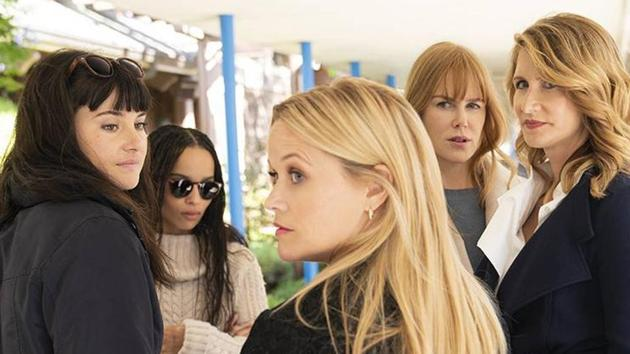 The Monterey Five -- Nicole Kidman, Reese Witherspoon, Shailene Woodley, Laura Dern and Zoe Kravitz -- have a lot to be afraid of.