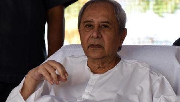 Odisha Chief Minister Naveen Patnaik.(Arabinda Mahapatra/Hindustan Times)