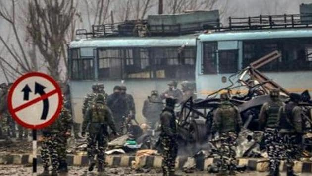In February 2019, the Pakistan-based terrorist group Jaish-e-Muhammad claimed responsibility for a bombing in Kashmir that killed at least 40 Indian soldiers(PTI)