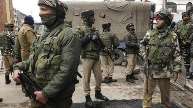According to an internal document accessed by HT, 70 Chinese grenades (64 in 2018 and six so far in 2019) have been seized by security forces in Jammu and Kashmir since January 1 last year.(Representative Image/HT File Photo)