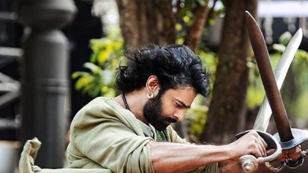 Prabhas in a shot from his hit film Baahubali.(Instagram)