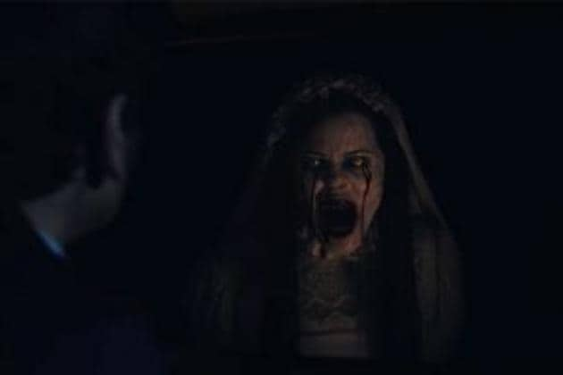 The Curse of the Weeping Woman is inspired by the 17th century Mexican fable about the ghost of a woman who returns to terrorise children in Los Angeles, in 1973.(Warner Bros)