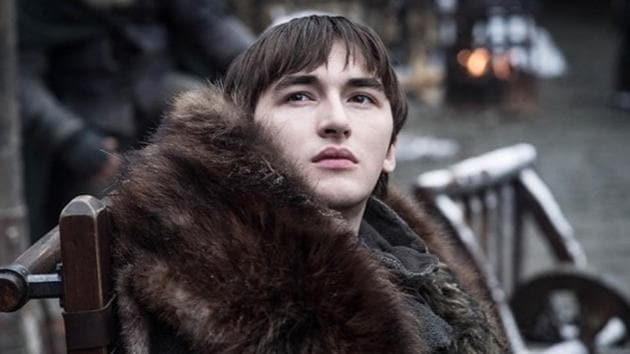 Isaac Hempstead-Wright as Bran Stark in Game of Thrones.