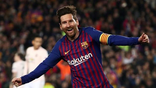 File image of Barcelona footballer Lionel Messi(REUTERS)