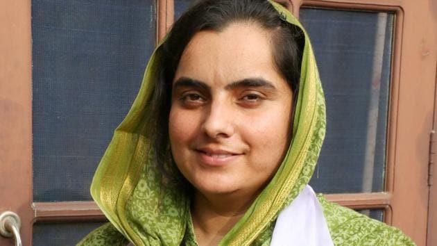 Aam Aadmi Party's Bathinda candidate Baljinder Kaur.(HT File)