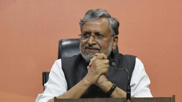 """The Bihar deputy chief minister urged the court to summon Rahul Gandhi to face trial, alleging that his election speech """"ridiculed and lowered their [Modis'] reputation in the eyes of the public"""".(Vipin Kumar/HT PHOTO)"""