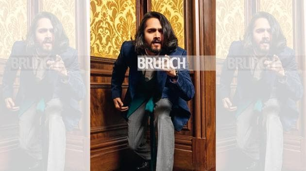Bhuvan Bam is one of the first generation youtube stars in India and probably the fastest rising who has got 12 million followers on youtube in just four years! (Jacket, Unit by Rajat Suri; trousers, Brooks Brothers; shirt, Zara; shoes Hush Puppies; Art direction: Amit Malik; Make-up and hair: Artistry by Anjali Jain ; Styling by Avneet Chadha; Location courtesy: The Leela Palace, New Delhi)(Avneet Chadha)