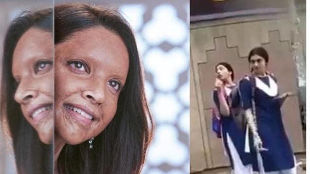Deepika Padukone plays an acid attack survivor in Meghna Gulzar's Chhapaak.(Instagram)