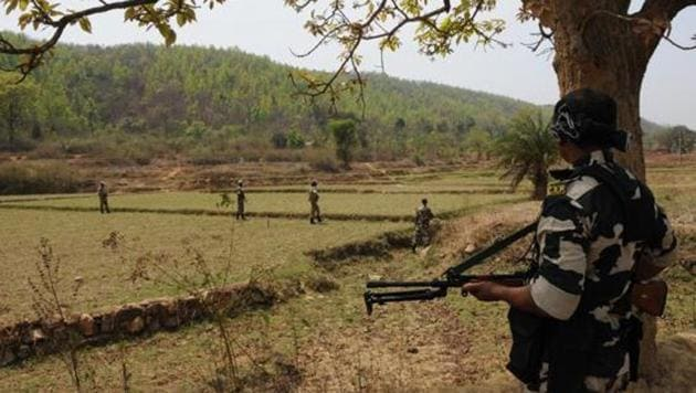 Two Maoists were gunned down in an encounter with security forces in Chhattisgarh's Bijapur district on Sunday, the police said.(Representative Image)