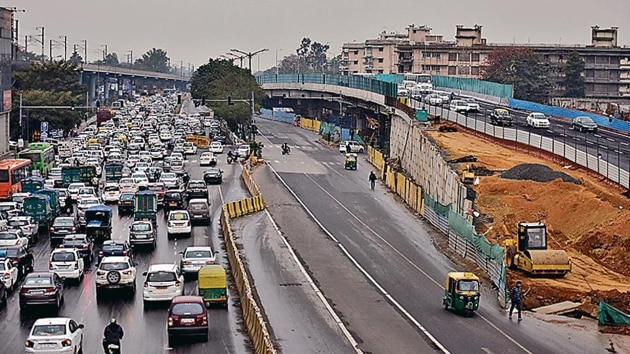A letter accepting the bid was issued to a Jaipur-based contractor on April 18.(HT Photo)