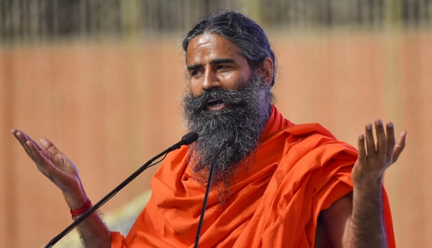 Describing himself as someone who doesn't belong to any particular political party, the yoga guru said the country was facing all sorts of political, economic and religious challenges at present.(PTI FILE)