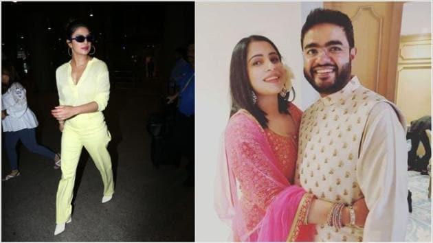 Priyanka Chopra arrives in Mumbai for brother Siddharths wedding. See