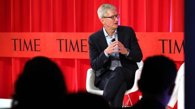 After Facebook's Mark Zuckerberg, Apple's Tim Cook now wants government regulation of tech companies(AFP)