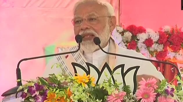 The PM urged the workers to turn Varanasi elections into model exercise, forcing experts to make it a case study.(ANI)