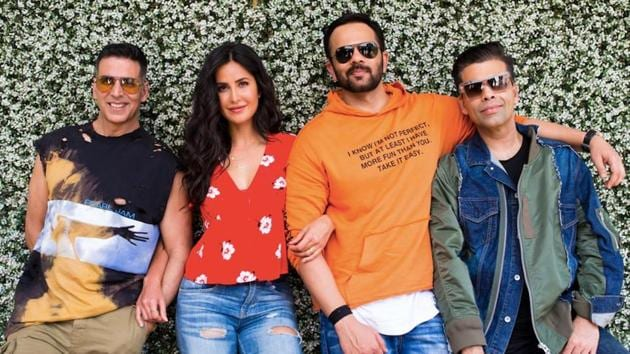 Akshay Kumar and Katrina Kaif will star in Rohit Shetty's Sooryavanshi.(Twitter)