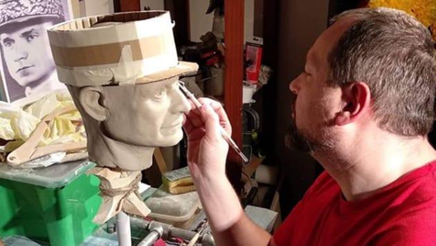 Roman Bajzík, a 48-year-old opera teacher began creating wax sculptures back in 2002.(Roman Bajzík/Instagram)