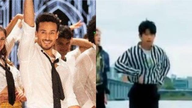 K-pop band IN2IT has performed a cover version of Tiger Shroff's The Jawaani song from Student of the Year 2.