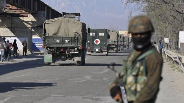 Four people have been arrested for their alleged involvement in grenade attacks and planting explosives in Jammu and Kashmir's Pulwama district, the Jammu and Kashmir police said on Monday.(Representative Image/HT File Photo)