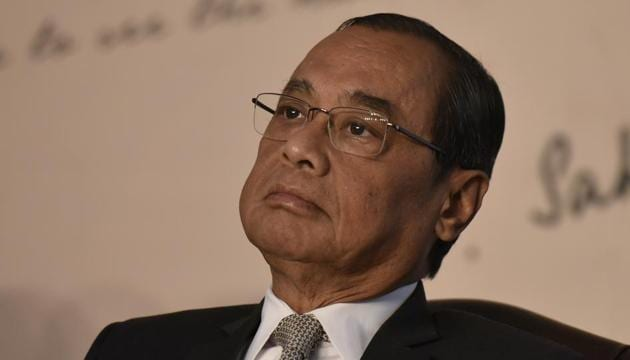 A decision to conduct an internal inquiry into the allegations against the Chief Justice of India (CJI) was taken on April 23, after a full court resolution was passed to the effect.(Vipin Kumar/HT PHOTO)